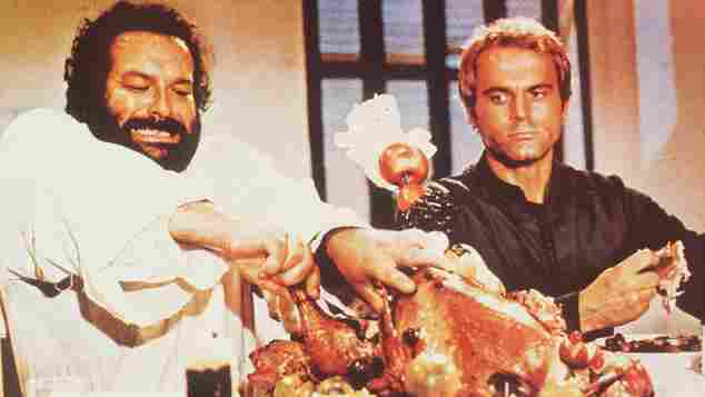 """Bud Spencer und Terence Hill in """"Zwei Missionare"""""""