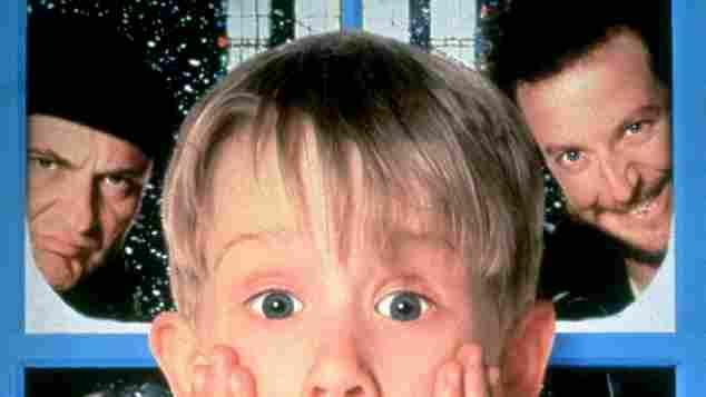 Macaulay Culkin 'allein zu Hause' 1990