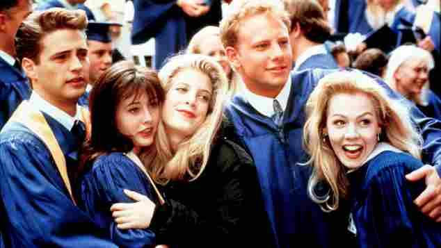 """Hauptcast der Serie """"Beverly Hills 90210"""""""