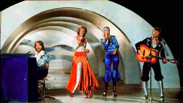 ABBA 1974 Eurovision Song Contest