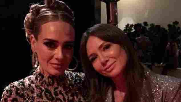 Adele und Kinga Rusin