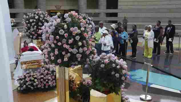 Aretha Franklins Leiche wird in Detroit aufbewahrt