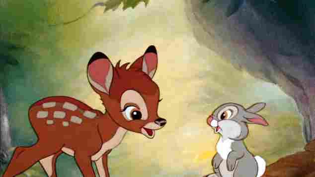 """""""Bambi"""" und """"Klopfer"""""""