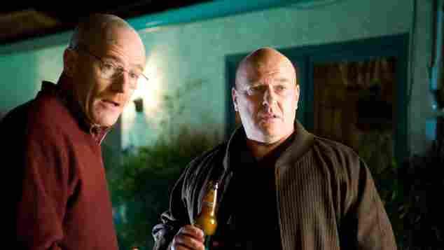 Bryan Cranston und Dean Norris