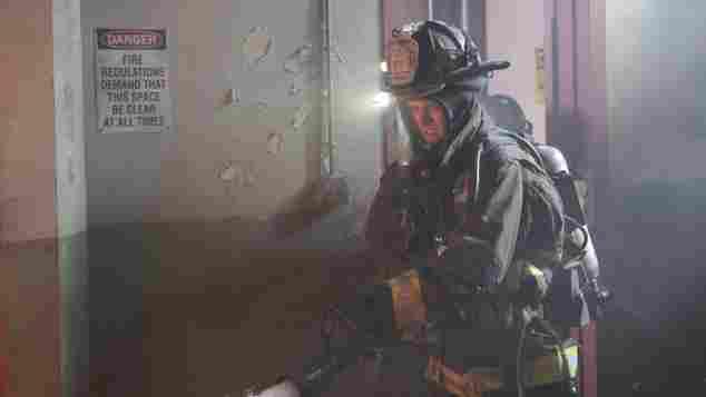 """Matthew Casey in """"Chicago Fire"""""""