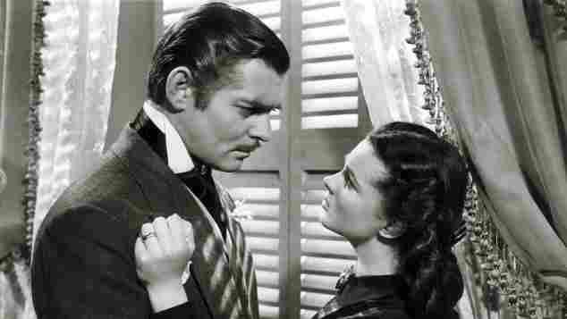 """Clark Gable und Vivien Leigh in """"Vom Winde verweht"""""""