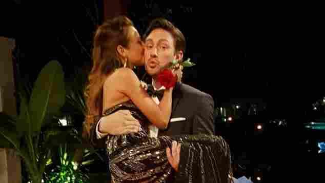 Daniel Völz und Kristina sind ein Paar