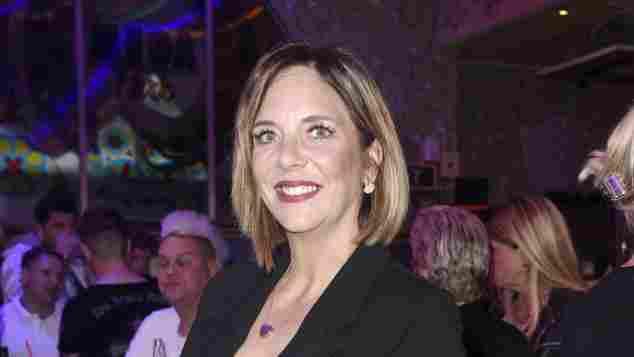 Daniela Büchner bei dem Saison-Auftakt im Megapark auf Mallorca