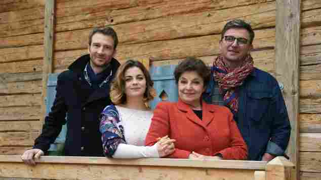 Der Bergdoktor Heiko Ruprecht, Ronja Forcher,, Monika Baumgartner und Hans Sigl