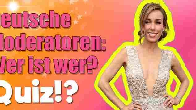 deutsche moderatoren wer ist wer