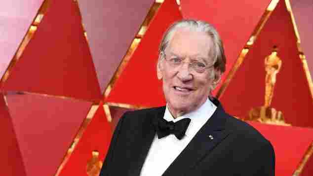 Preisträger Oscars 2018: Donald Stutherland für sein Lebenswerk