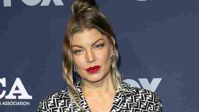 """""""Black Eyed Peas""""-Sängerin Fergie beim Sender FOX im August 2018"""