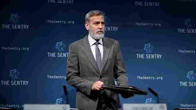George Clooney September 2019