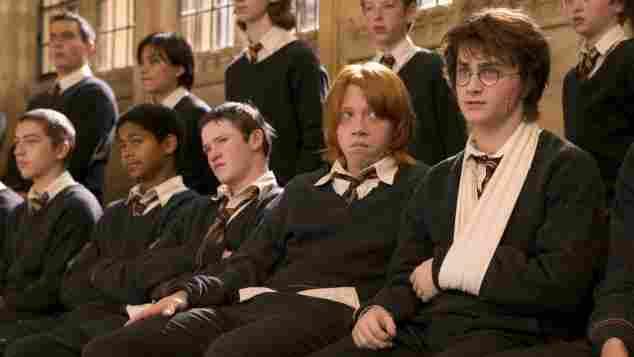 """""""Harry Potter""""-Stars: Alfred Enoch, Devon Murray, Rupert Grint und Danielle Radcliffe"""