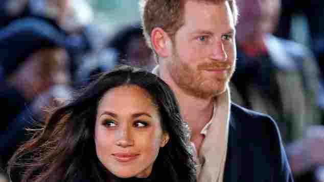 Meghan Markle und Prinz Harry bei ihrem ersten Wohltätigkeitsauftritt, britisch Royals, Suits