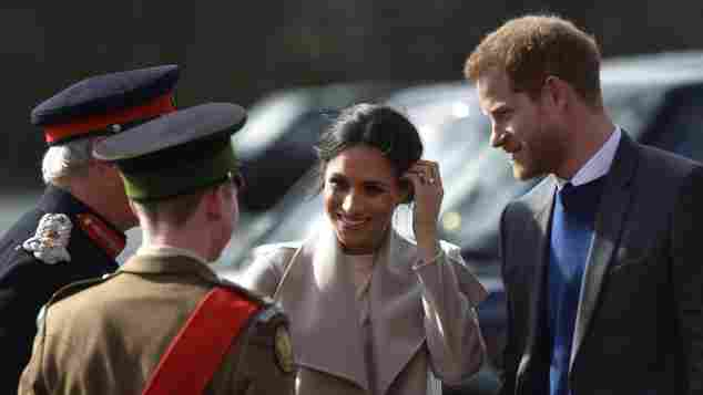 Meghan Markle und Prinz Harry Süßer Paar-Auftritt, Meghan Markle und Prinz Harry, Meghan Markle und Prinz Harry in Belfast