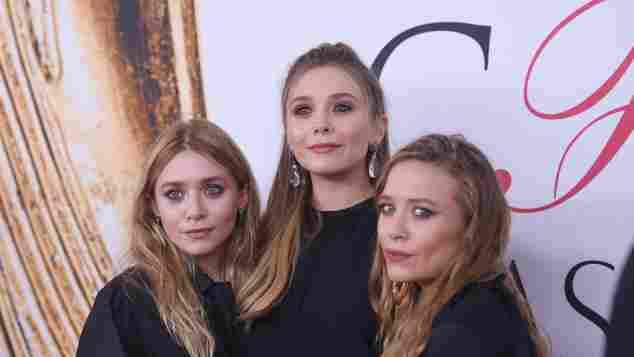 Olsen-Twins Schwester, Elizabeth Mary-Kate und Ashley Olsen