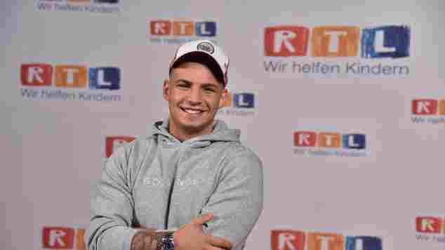 Pietro Lombardi RTL Spendenmarathon