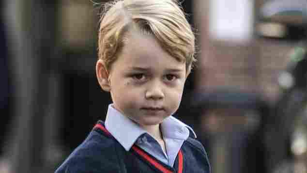 Prinz George, Prinz George Geburstag, Prinz George fünfter Geburtstag, Prinz George Portrait, Prinz George Alter, Prinz George 5. Geburtstag