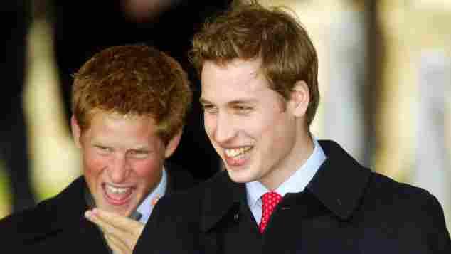 Prinz Harry und Prinz William 2003
