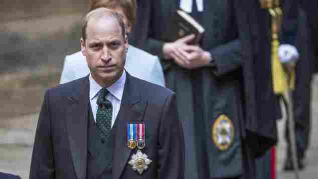 Prinz William Rede Edinburgh schottland