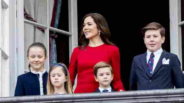 Prinzessin Isabella, Prinzessin Josephine, Prinzessin Mary, Prinz Vincent, Prinz Christian Dänemark