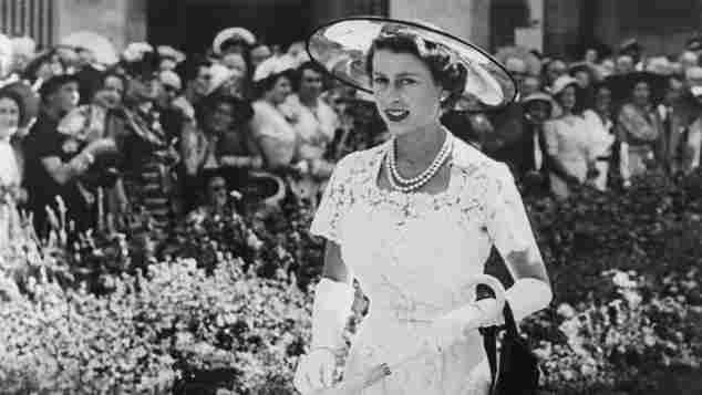 Königin Elisabeth II. 1954