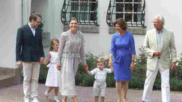 Die schwedische Königsfamilie feiert Prinzessin Victorias 41. Geburtstag