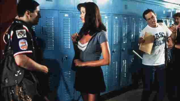 """Jason Biggs und Shannon Elizabeth in """"American Pie"""""""