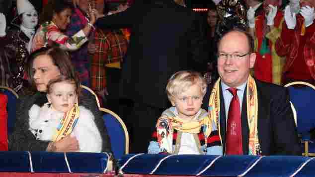 Stephanie von Monaco Fürst Albert von Monaco Zwillinge Prinz Jacques Prinzessin Gabriella Zirkus