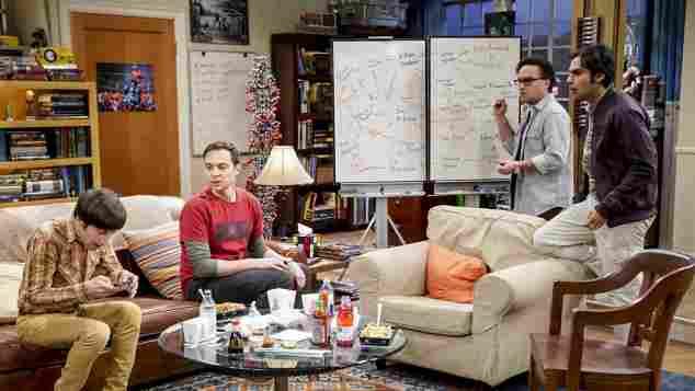The Big Bang Theory Howard  Sheldon, Leonard und Raj