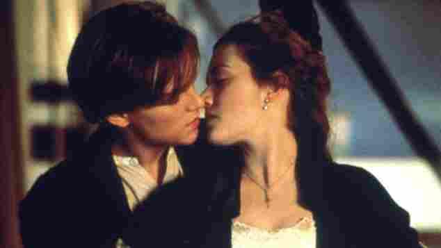 """""""Titanic"""": Leonardo DiCaprio und Kate Winslet"""