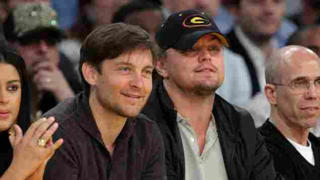 Tobey Maguire Leonardo DiCaprio 2009