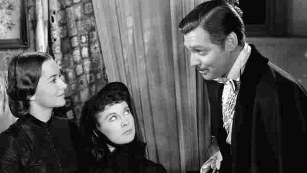 """Vom Winde verweht"": Olivia de Havilland Vivien Leigh Clark Gable"