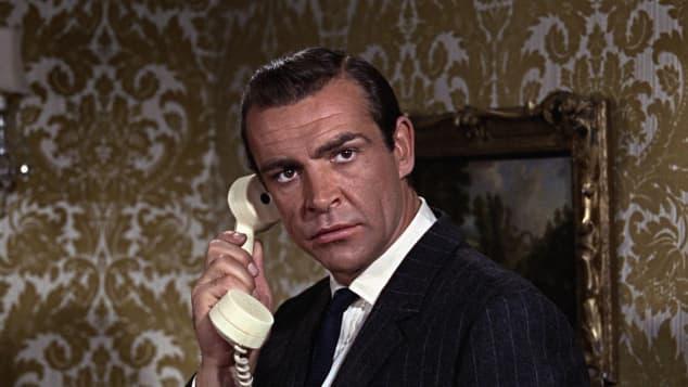 """Sean Connery war der legendäre Spionageagent """"James Bond""""."""