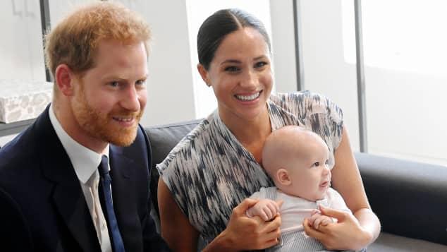 Prinz Harry, Herzogin Meghan und Archie