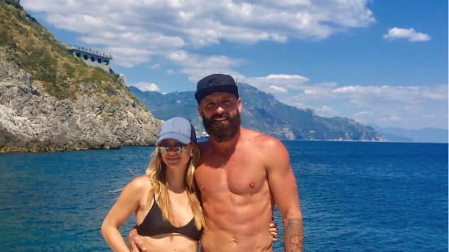 A.J. Cook Criminal Minds Star Bikini-Body heiß Ehemann Nathan Andersen Ehepaar