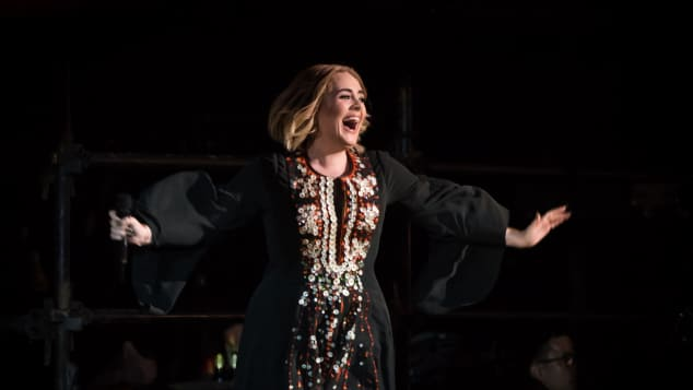 Adele in Glastonbury