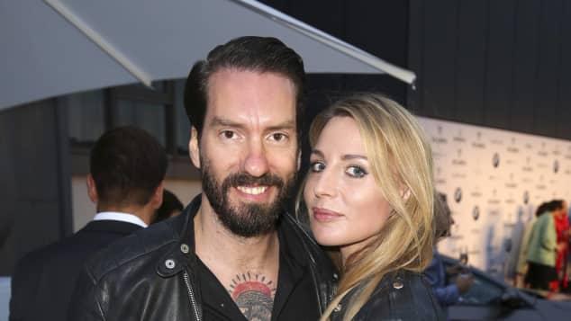 Alec Völkel von The BossHoss und Ehefrau Johanna