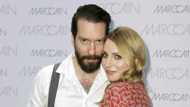 Alec Völkel und Johanna Michels auf der Berliner Fashion Week