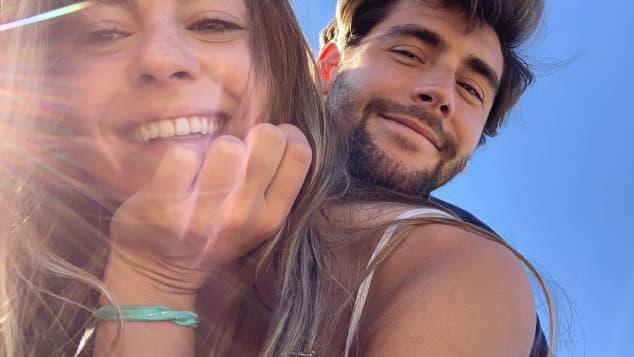 Alvaro Soler mit seiner Freundin