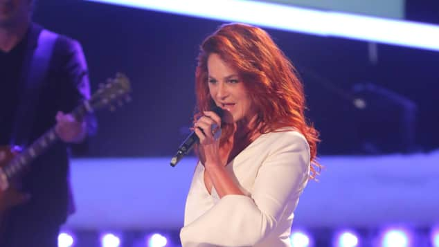 Andrea Berg Outfit sexy