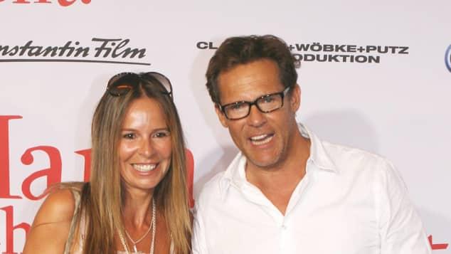 Christian Tramitz mit seiner Frau Anette