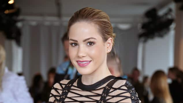 Angelina Heger auf der Fashion Week 2017 in Berlin