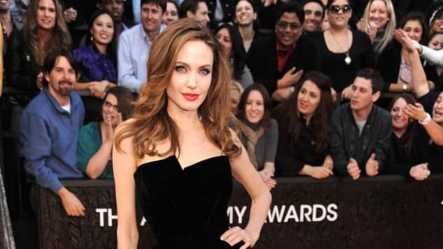 Angelina Jolie bei den Oscars 2012