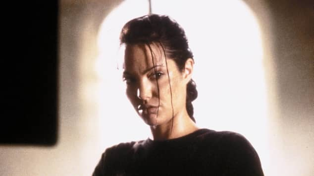"Angelina Jolie als ""Lara Croft"" in ""Tomb Raider"" 2001"