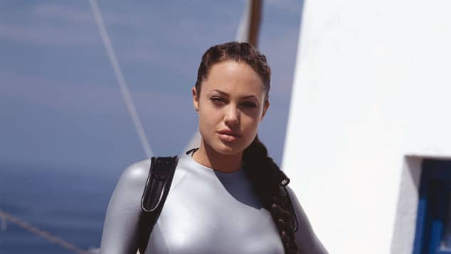 "Angelina Jolie im Film ""Tomb Raider"""