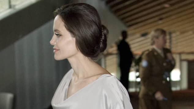 Angelina Jolie und Harjit Singh Sajjan