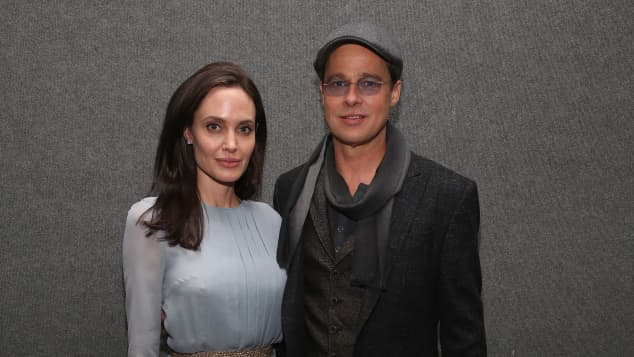 "Angelina Jolie und Brad Pitt beim Screening von ""By The Sea"""