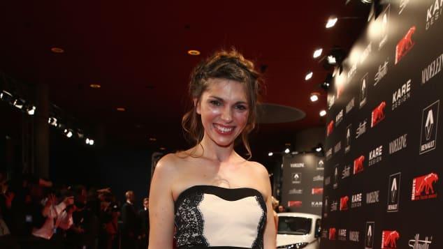 Anna Angelina Wolfers ist Schauspielerin